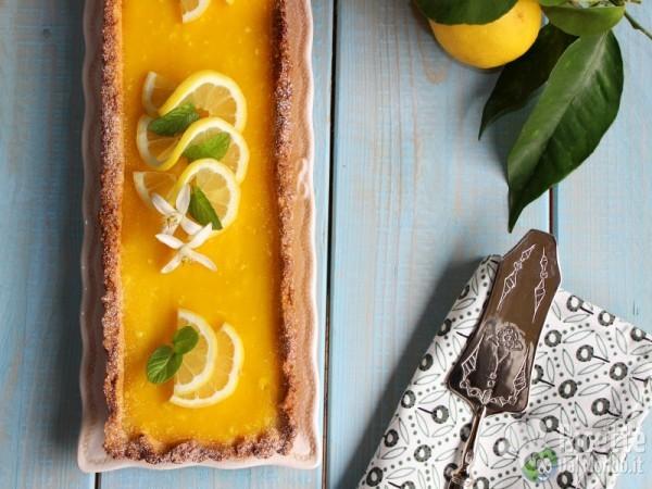 Crostata al lemon curd - crema al limone