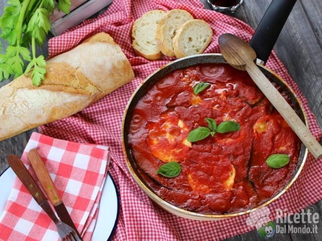 Ricetta Parmigiana di melanzane in padella