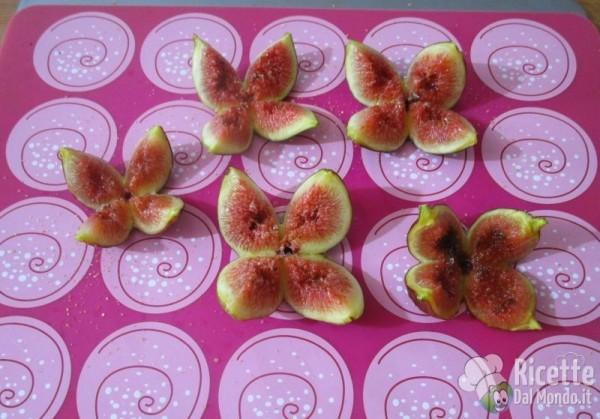 Rose di fichi e prosciutto crudo dolce di Parma 4