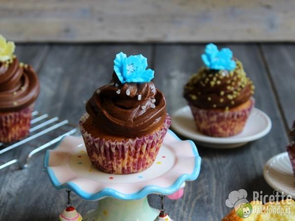 Cupcakes con crema al burro