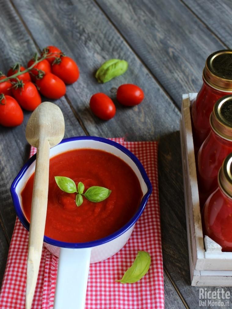 Come fare la passata di pomodoro