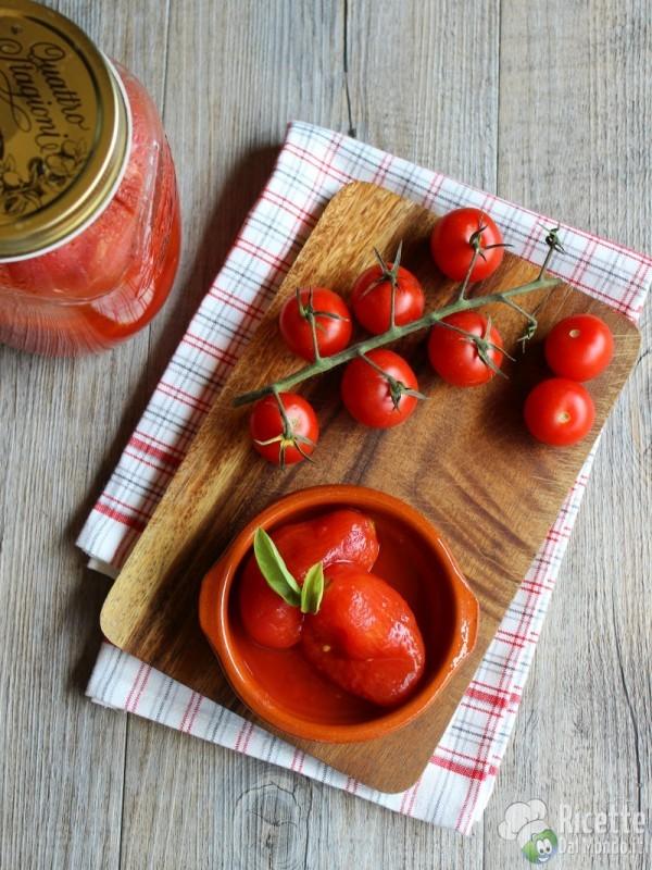 Ricetta pomodori pelati