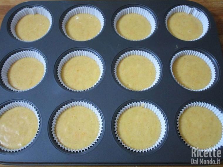 muffin alla zucca e Nutella Bimby 2