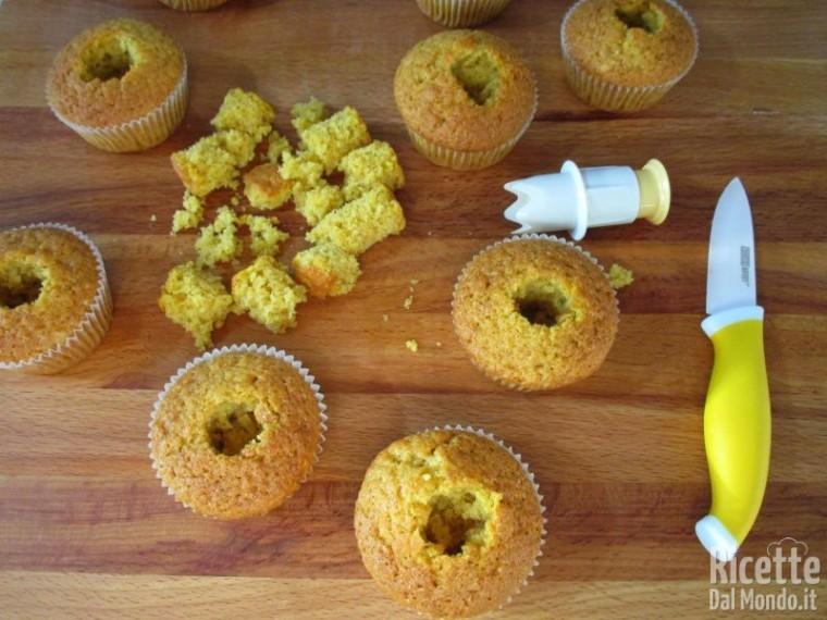muffin alla zucca e Nutella Bimby 4