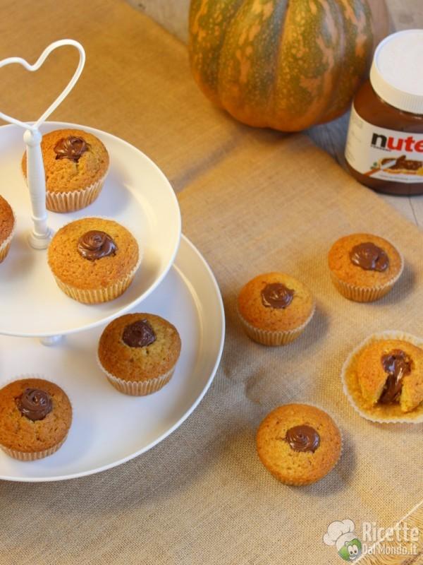 Ricetta muffin alla zucca e Nutella Bimby