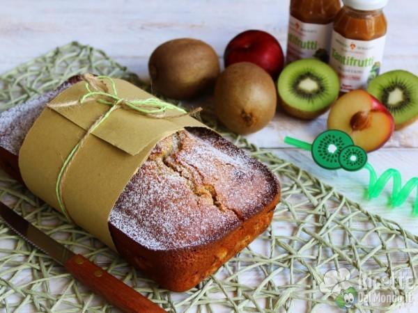 Plumcake al kiwi e succo