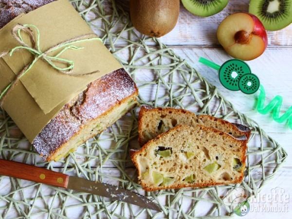Plumcake al kiwi soffice