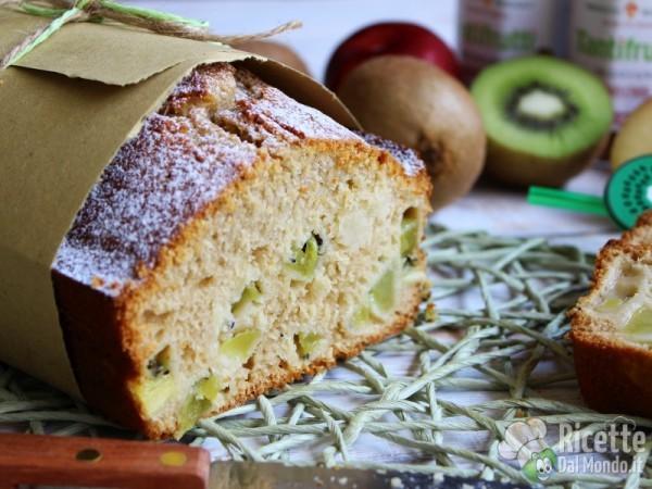 Plumcake al kiwi morbido