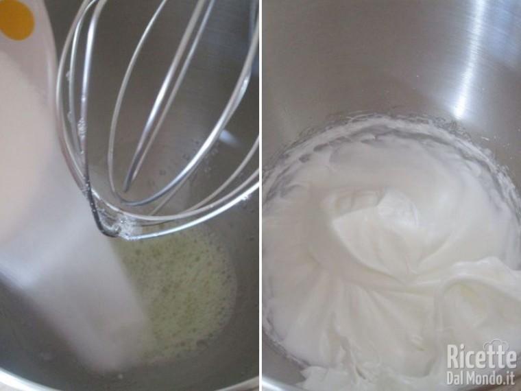 Torta paradiso farcita con crema al latte 2