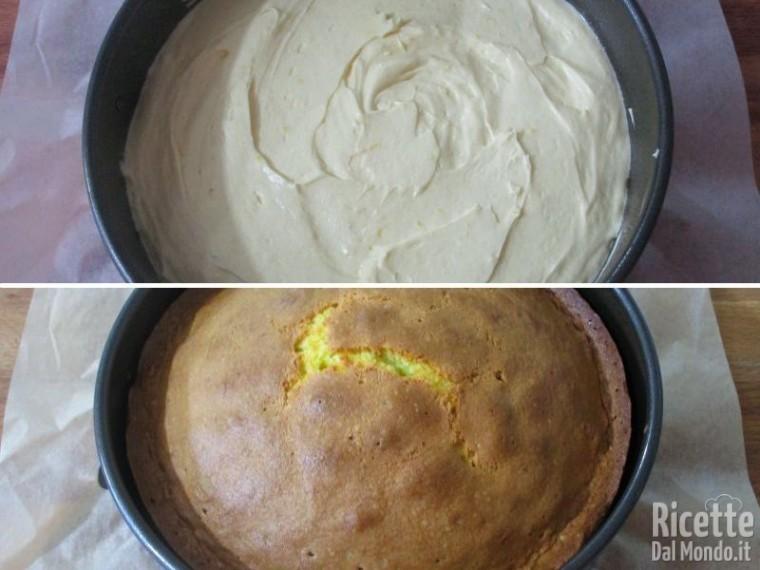 Torta paradiso farcita con crema al latte 5