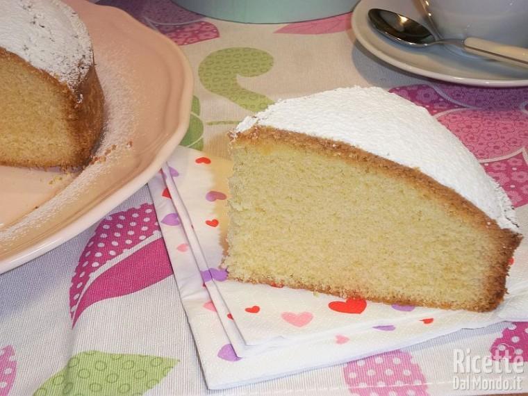 Ricetta torta paradiso Bimby