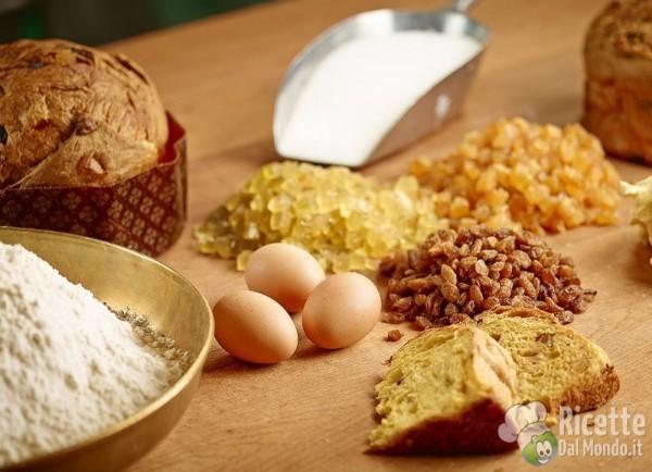 Ingredienti per il panettone
