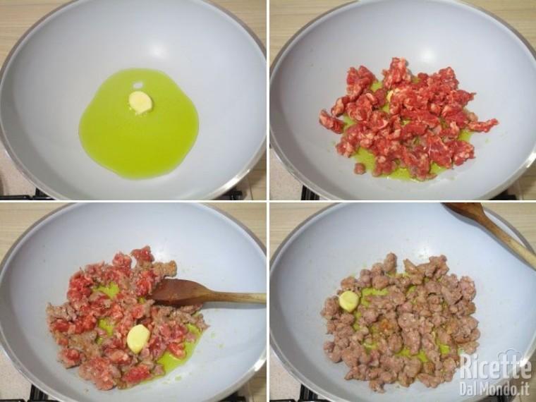 Pasta con fagioli e salsiccia 4