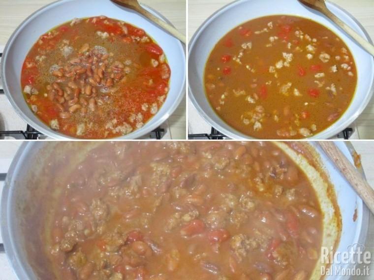 Pasta con fagioli e salsiccia 6