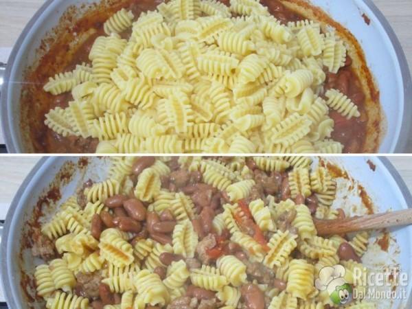 Pasta fagioli e salsiccia 7