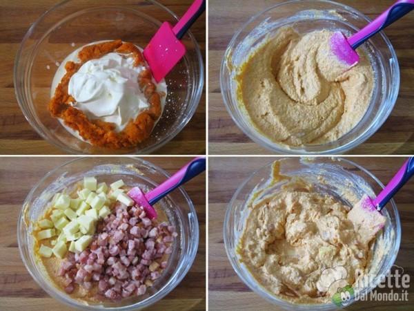 Quiche salata zucca, pancetta e fontina 5