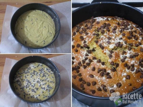 Torta integrale con gocce di cioccolato 6