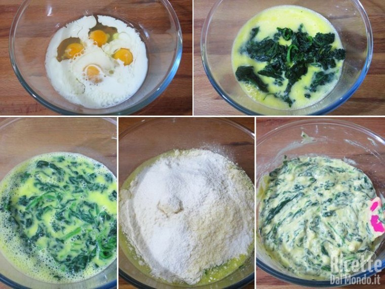 Plumcake agli spinaci 3