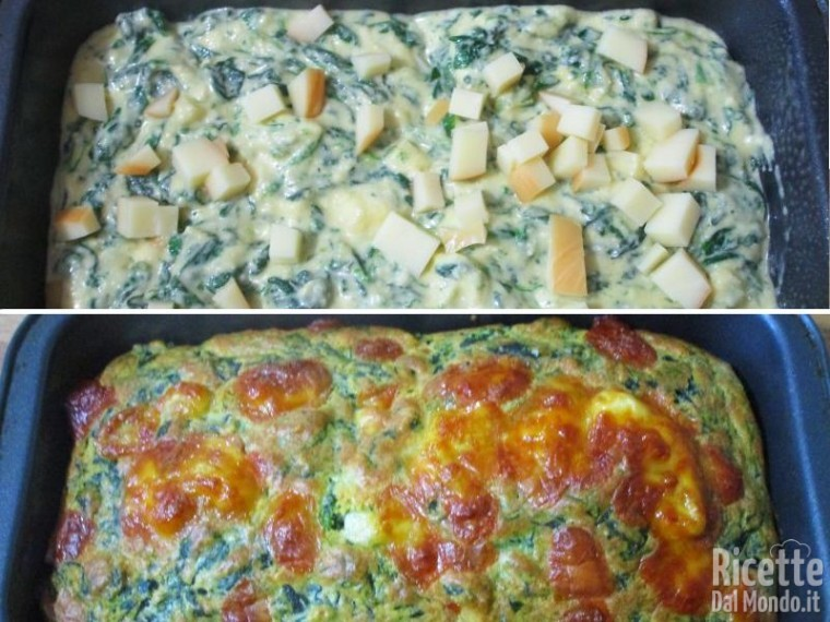 Plumcake agli spinaci 4