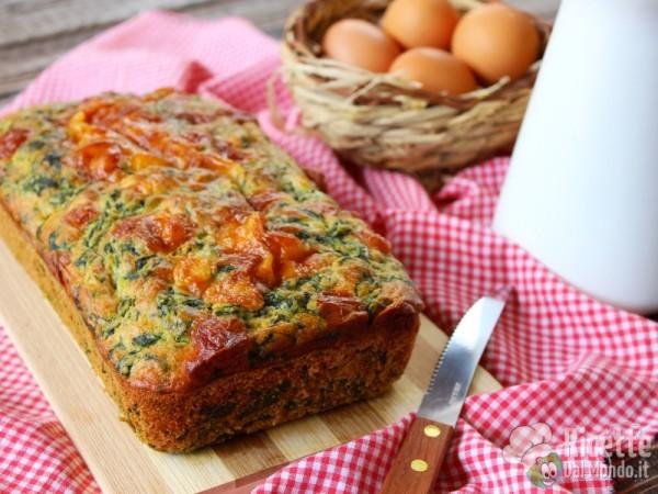 Plumcake agli spinaci 5