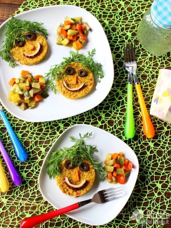 Come fare i Tortini di verdure buffi