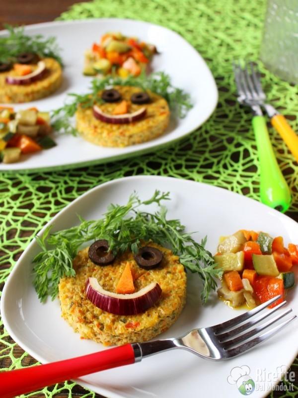 Semplici Tortini di verdure buffi