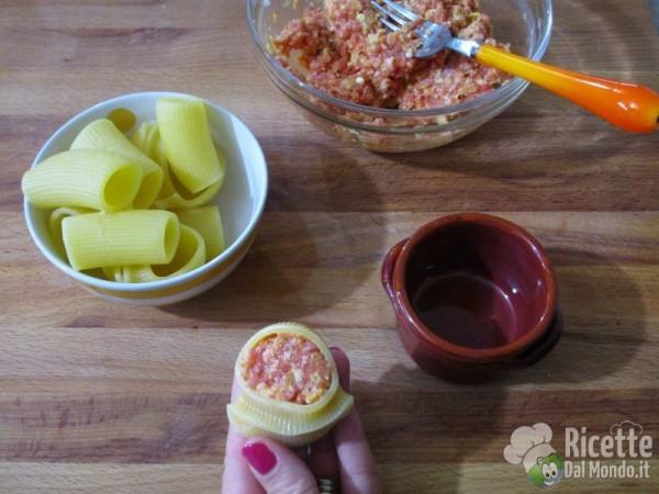 Cocottine di pasta ripiena 5