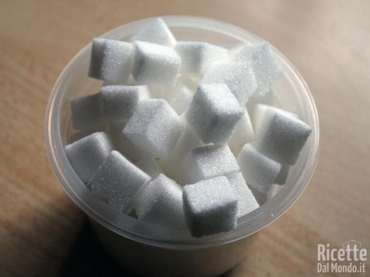 Crema pasticcera: zucchero