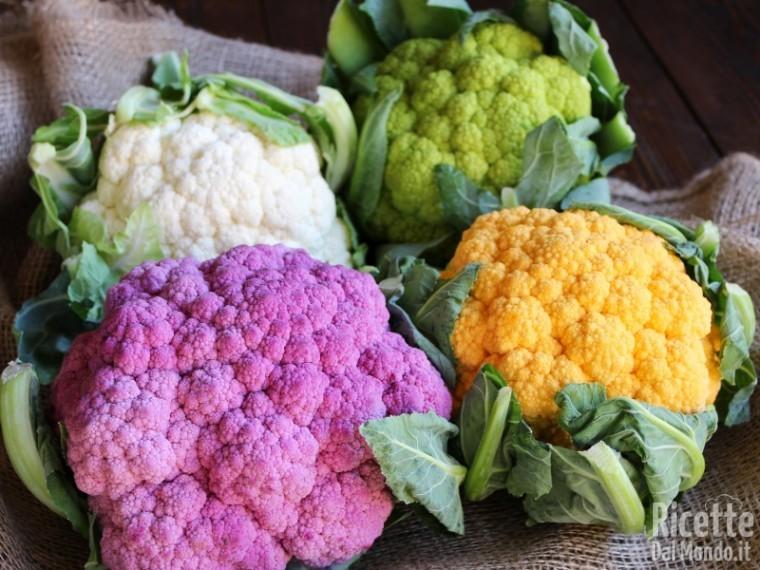 Un bouquet di... cavolfiori colorati 2