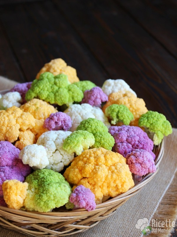 Un bouquet di... cavolfiori colorati 7