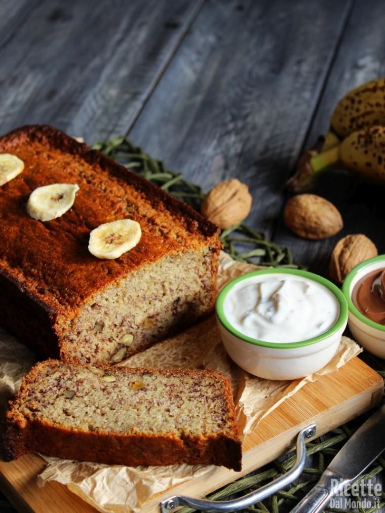 Banana bread, ricetta semplice