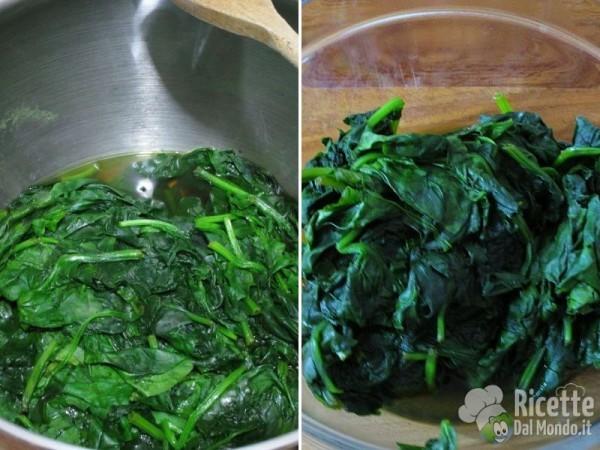 Lumachine di frittata agli spinaci 2