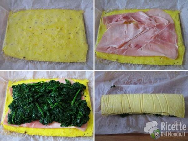 Lumachine di frittata agli spinaci 4