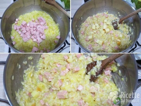 Zucchine tonde ripiene di riso 7