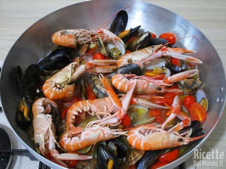 Scialatielli ai frutti di mare 4