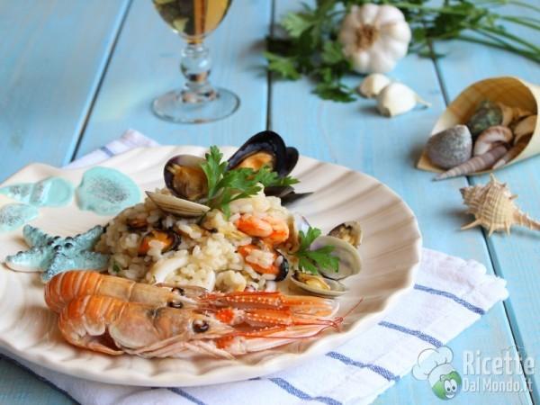 Risotto alla pescatora - ai frutti di mare