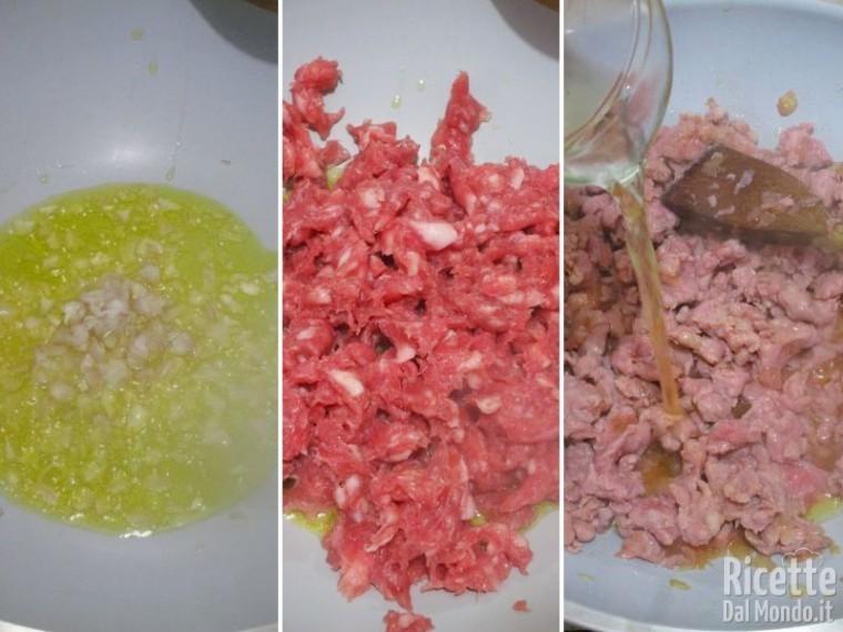 Paccheri ripieni di funghi e salsiccia 2
