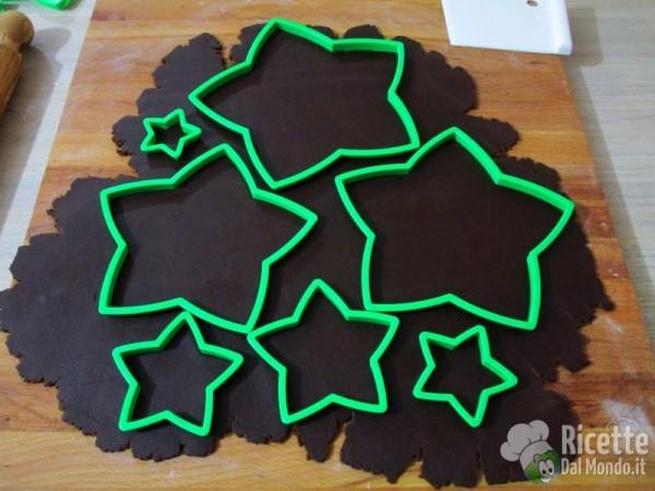 Albero di Natale di biscotti al cioccolato 4
