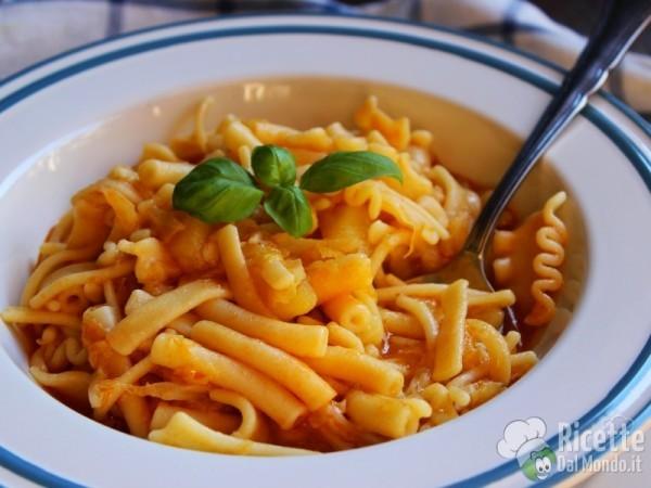 Ricetta Pasta patate e verza