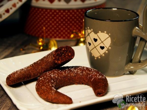 Kipferl al cioccolato viennesi