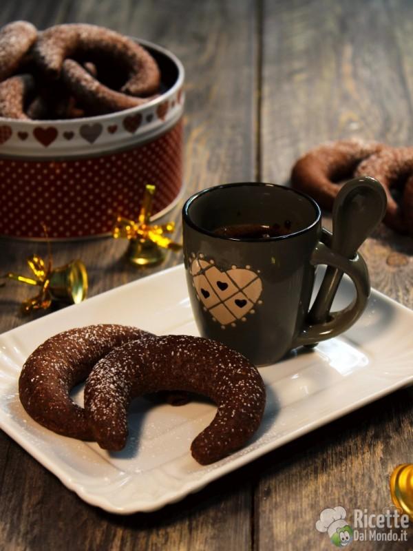 Ricetta Kipferl al cioccolato