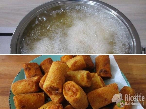 Paccheri fritti ripieni di calamari e patate 8