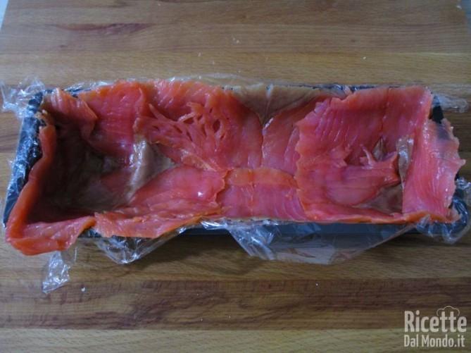 Sformato di salmone e ricotta 2