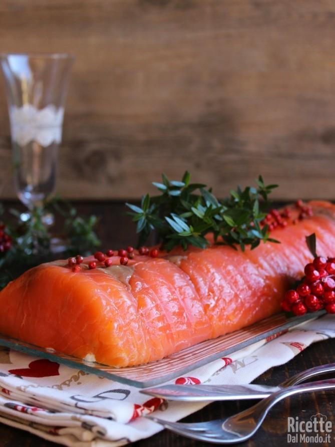 Sformato di salmone e ricotta senza cottura