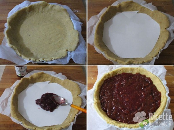 Linzer torte o torta Linz 5