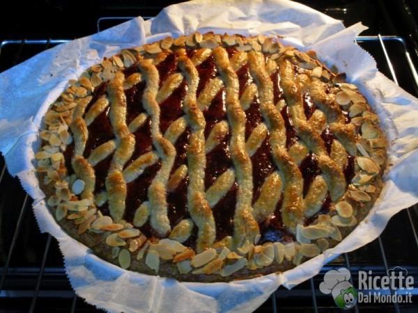 Linzer torte o torta Linz 7