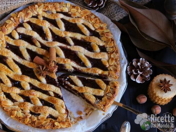 Linzer torte o torta Linz, ricetta austriaca