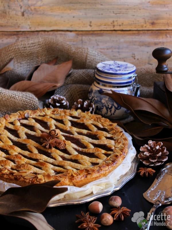 Linzer torte o torta Linz, crostata di ribes