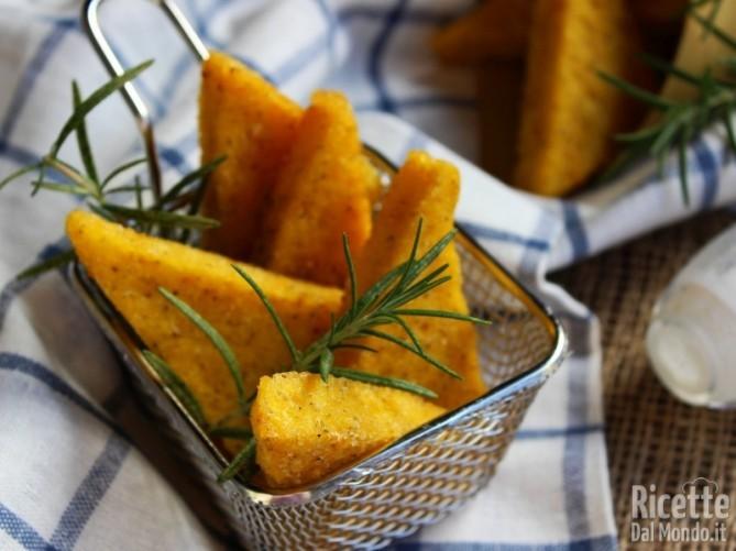Scagliozzi di polenta napoletani