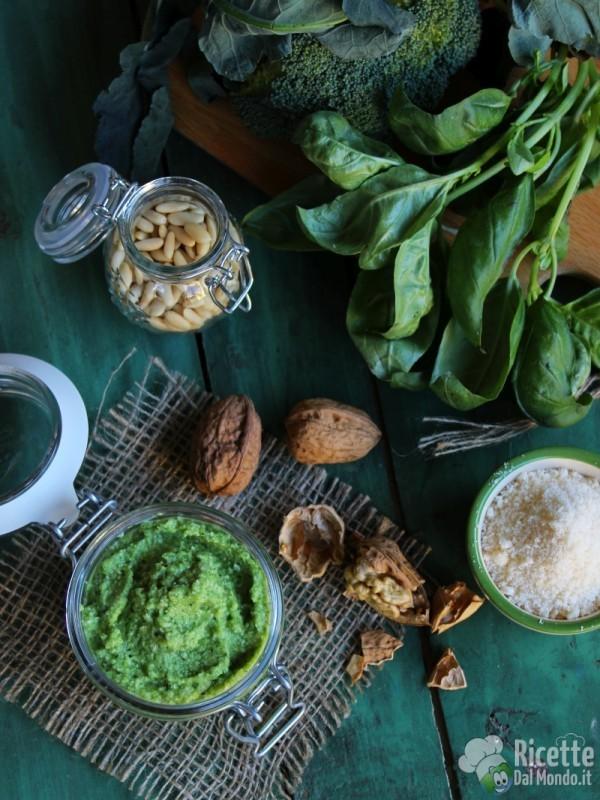 Come fare il Pesto di broccoli